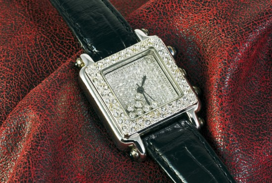 watch with diamonds